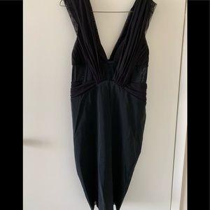 Bec & Bridge dress with sheer panels